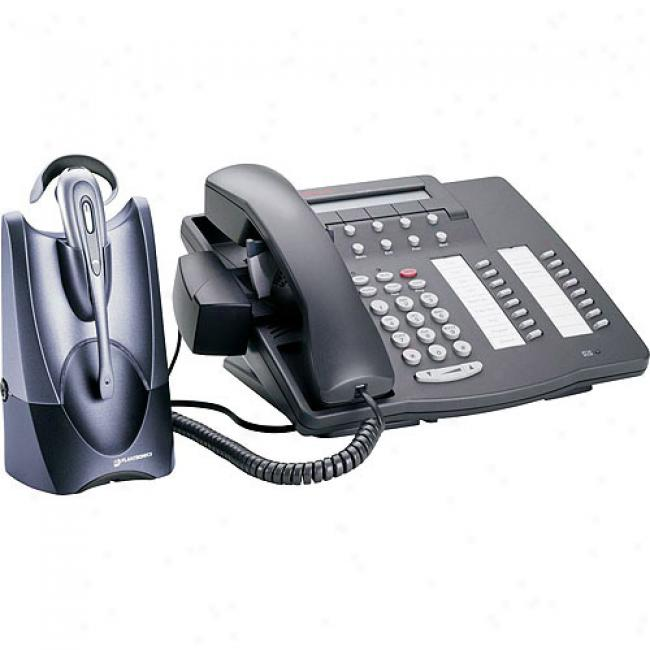 Plantronics Wireless Office Headset System With Lifter