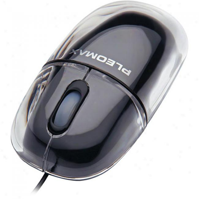 Pleomax Crystal Optical Usb Mouse