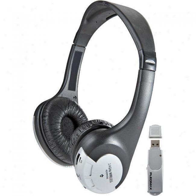 Pleomax Wireless Usb Headphones