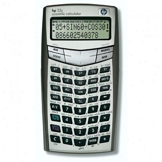Programmable 2 Line Scienific Calculator With Rpn & Algebraic Entry Modes, 31k Memory