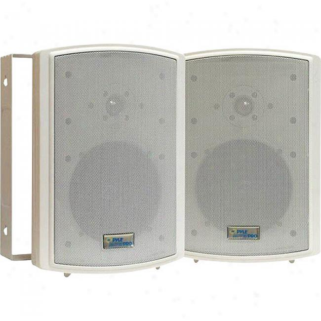 Pyle 6.5'' 350-watt Weatherproof Speaker, Pair