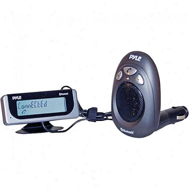 Pyle Bluetooth Car Kit With 12-digit Caller Id Lcd