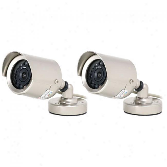 Q-see Qsocwc Outdoor Camera Kit With Night Apparition
