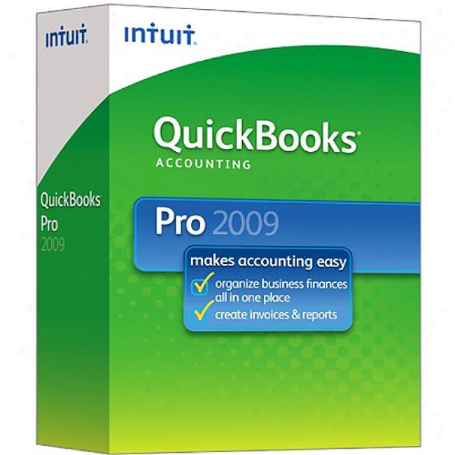 Quickbooks Pro 2009 Pc