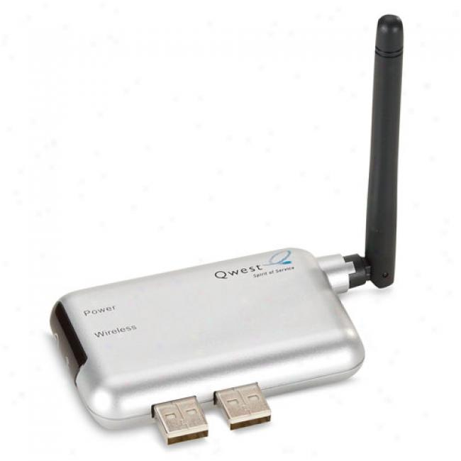 Qwest W1000 Dsl Wireless Expansion Module By Actiontec