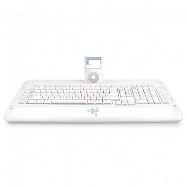 Razer Protype Keyboard With Ipod Dock
