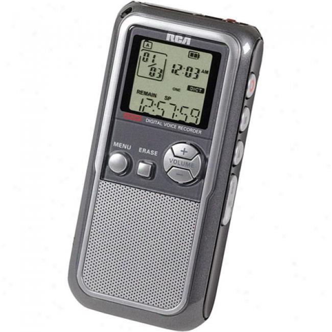 Rca 256mb Digital Voice Registrar, Rp5120