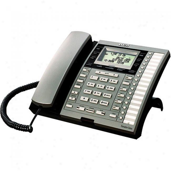 Rca 4-line Corded Phone W/ Caller Id & Digital Answerer