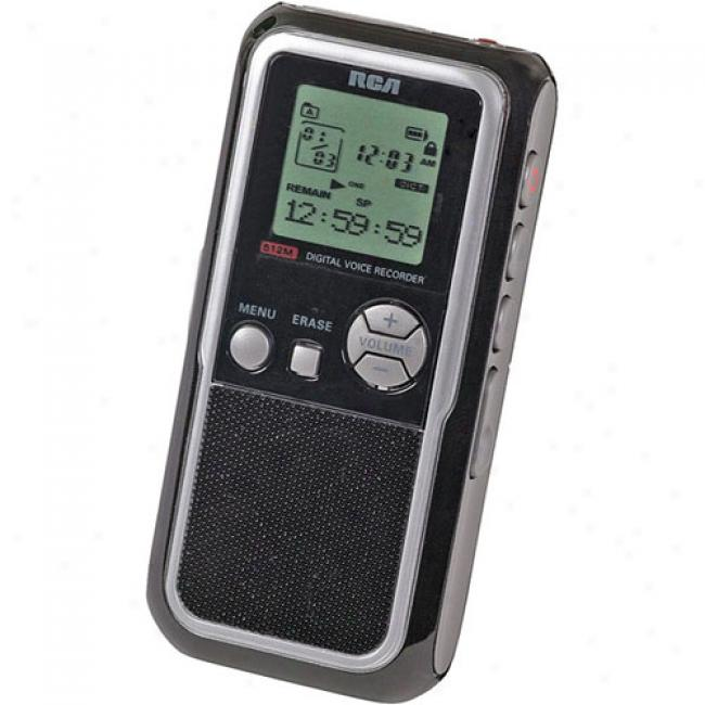 Rca 512mb Digital Tone Recorder W/ Mp3 Encoding, Rp5130