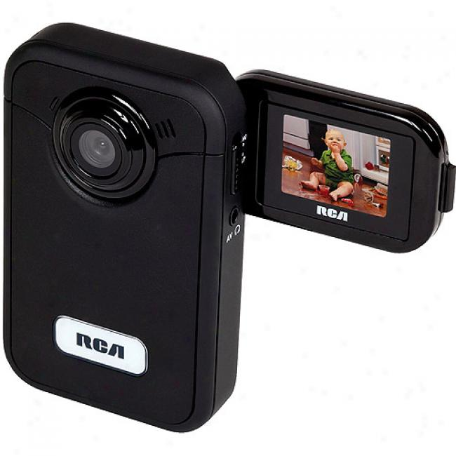 Rca Ez200 Black Small Wonder Digital Camcorder; 1gb Memory Included;
