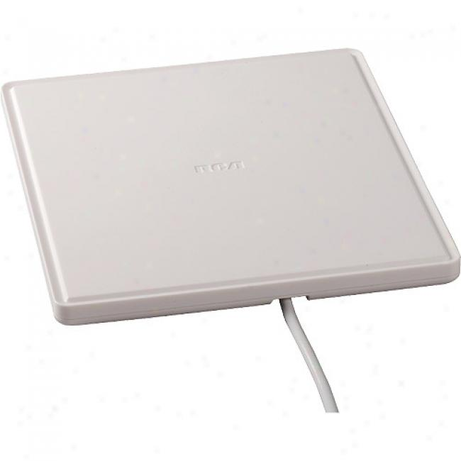 Rca Flat Multi-directional Digital Flat Amplified Antenna With Amplification