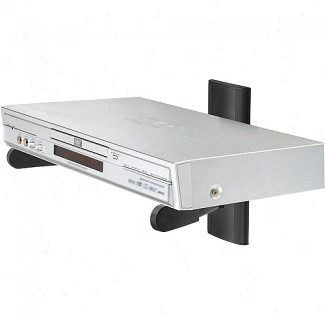 Ready-set-mount Dvd/dvr Component Shelf