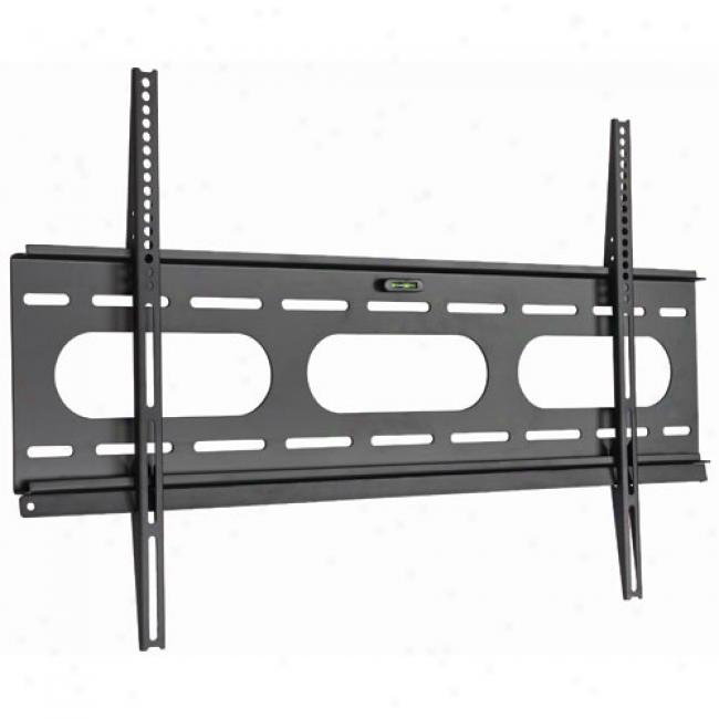 Ready-set-mountt Ultra Slim Flat Panel Tv Mount For 37