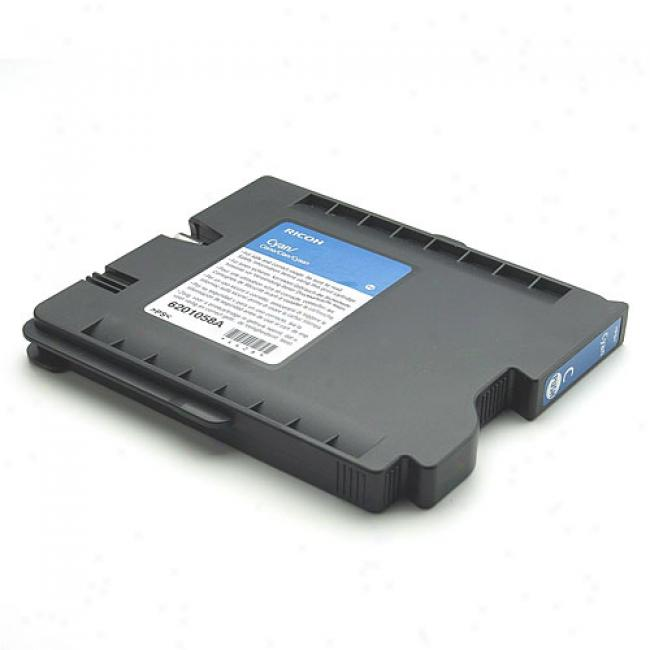 Ricoh Aficio Regular Yield Ink Cartridge, Cyan
