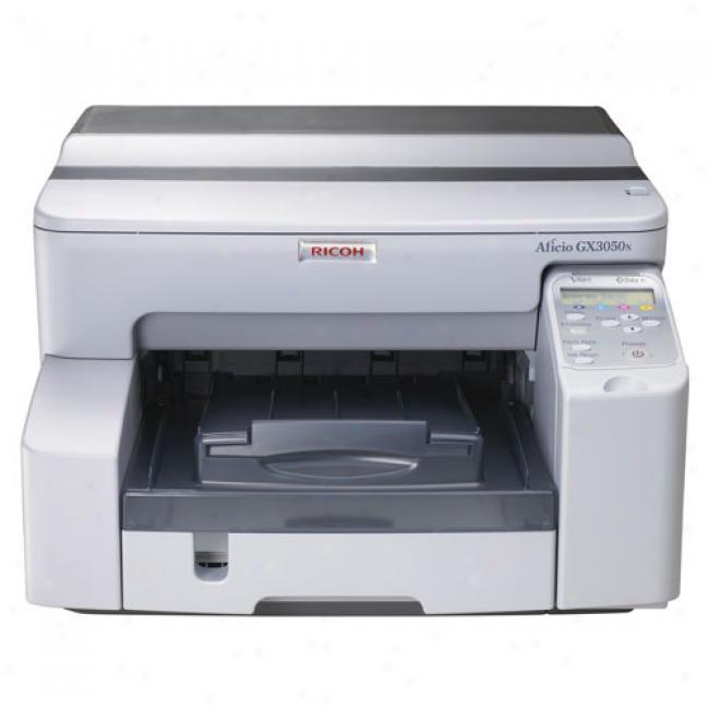 Ricoh Gelsprinter Gx3050n Color Inkjet Printer