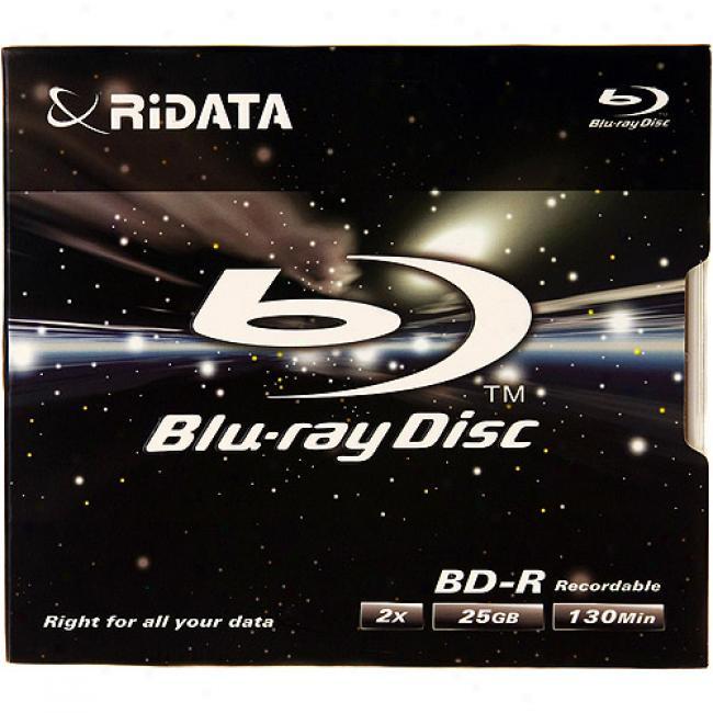 Ridata Blu-ray 2x Bd-r Disc