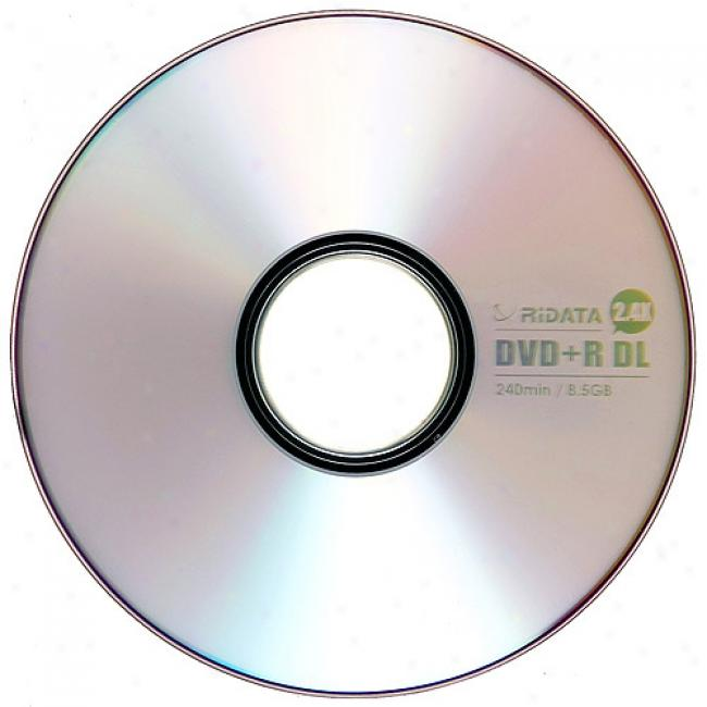 Ridata Dvd+r Double Layer Discs, 25-pack