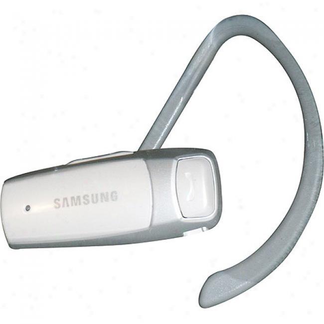 Samsung Bluet0oth Wep1800 Headset - White