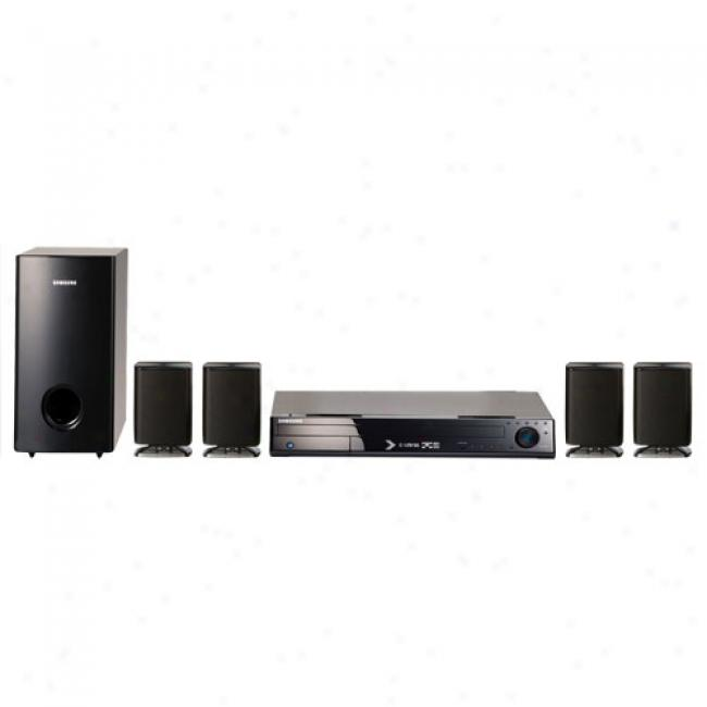 Samsung Home Theater Audio System W/ Upconverting Dvd Changer & Ipod Dock, Ht-z410