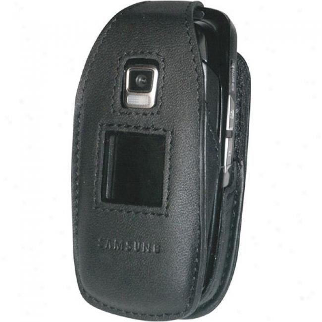 Samsung Leather Cover  For Sch-a870