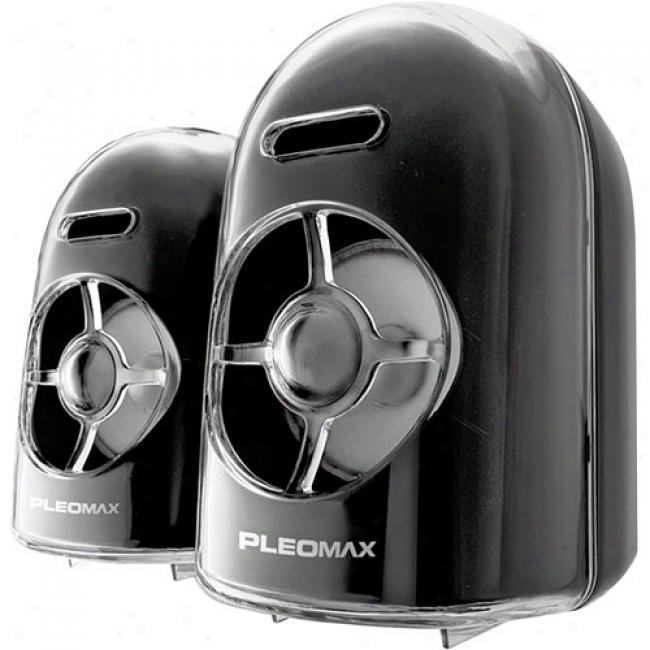 Samsung - Pleomax Crystal 2.0 Usb Speaker, Psp-7000b