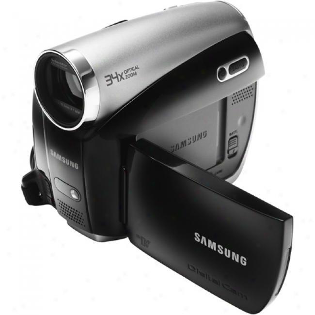 Samsung Sc-dx103 Black ~ Mini Dvd Camcorder W/ 2.7