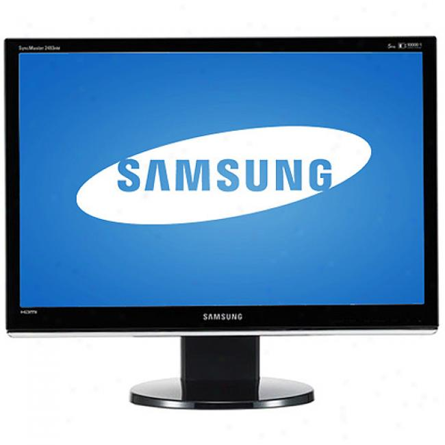 Samsung Syncmaster 25.5'' Pivoting Widescreen Lcr Monitor, 2693hm