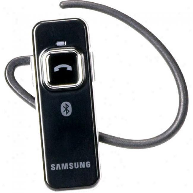 Samsung Wep350 Ultra-thin Bluetooth Headset, Platinum Red