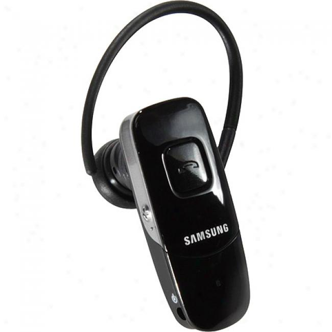 Szmsung Wep700 Ultra-thin Bluetooth Headset, Black