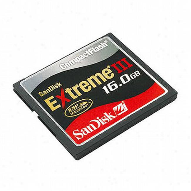 Sandisk Extreme Iii 16gb Compactflash Memory Card