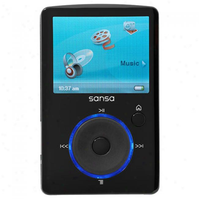 Sandisk Sansa 4gb Fuze Mp3 Video Mimic, Black