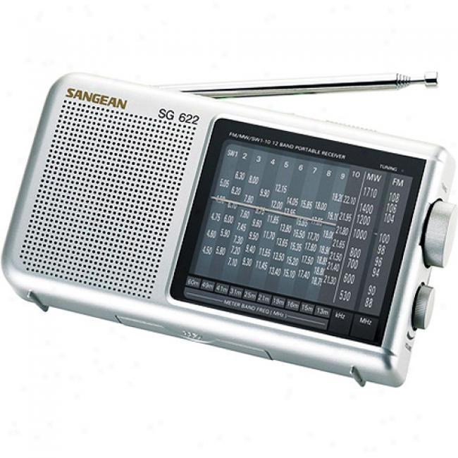 Sangean America Am/fm 10-shortwave World Band Receiver