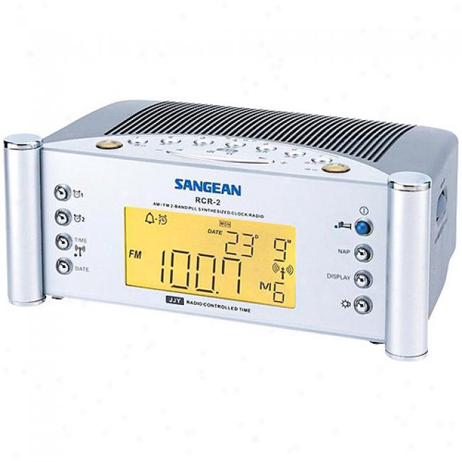 Sangean America Atomic Digital Clock Radio