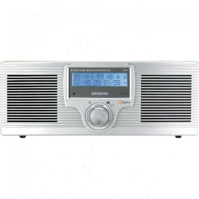 Sangean America Tabletip Hd Radio Tuner With Alarm