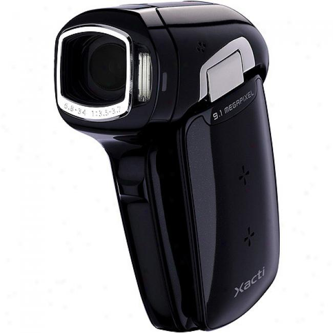Sanyo Xacti Vpc-cg9 Black Digital Camcorder With 5x Optical Zoom
