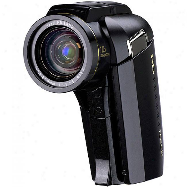 Sanyo Xacyi Vpc-hd1010 Black Digital Camcorder