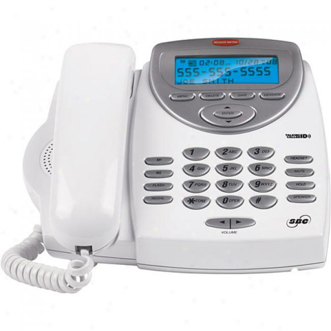 Sbc Multi-function Telephone With Talking Caller Id, Sbc-116
