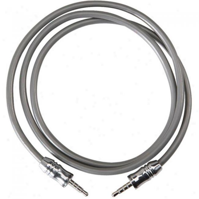 Scosche 3.5mm Plug Cable To 3.5mm Plug Cable, 3'