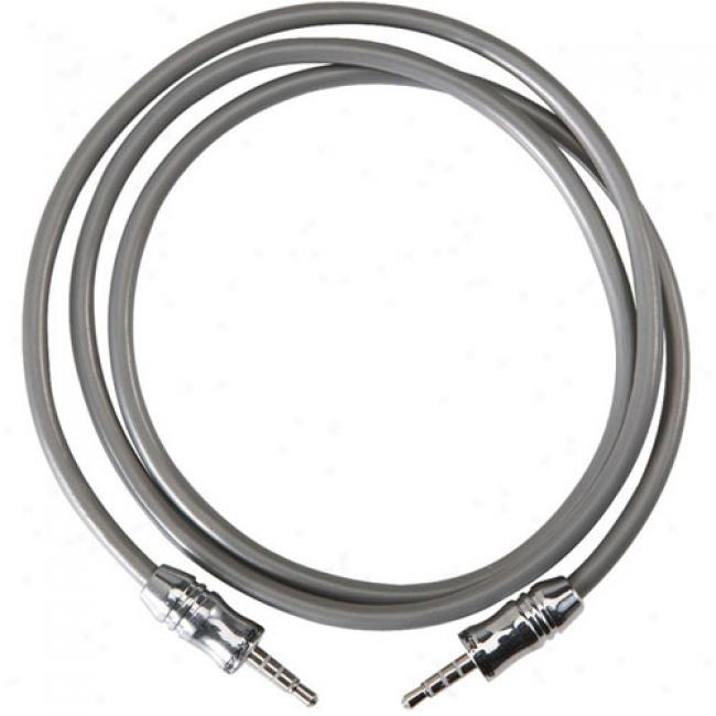 Scosche 3.5mm Plug Cab1e To 3.5mm Plug Cable, 6'