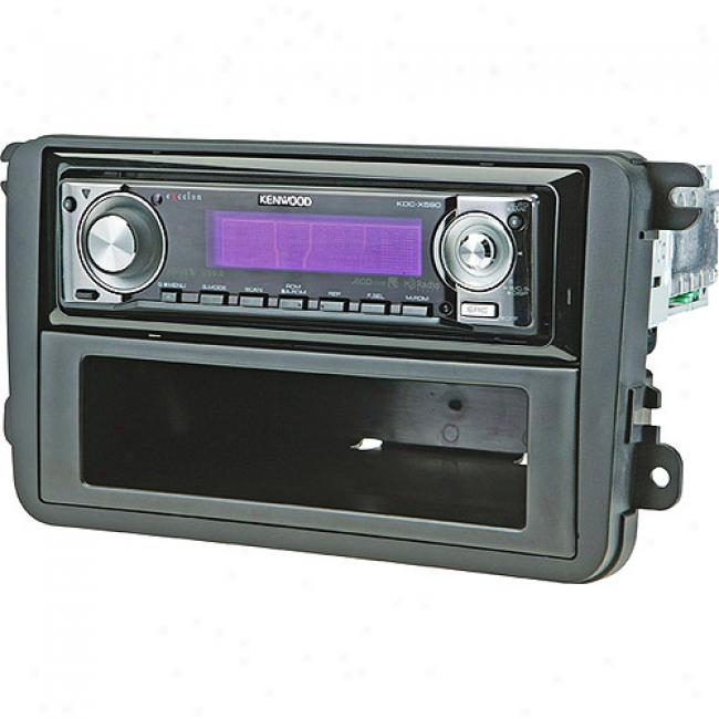 Scosche Din/double-din Kit For 2006-up Volkswagens