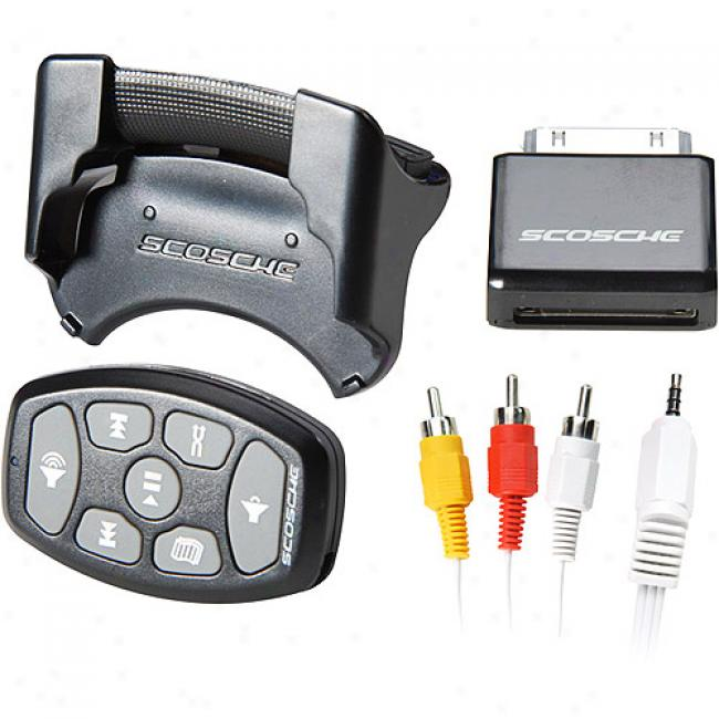 Scosche In-car Ipod Fm Transmitter With Rf Remote