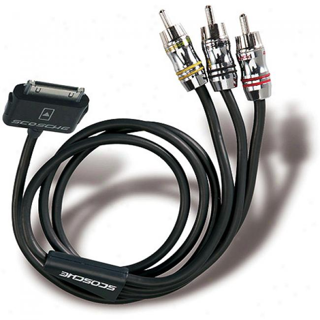 Scosche Showtime Ipod A/v Cable