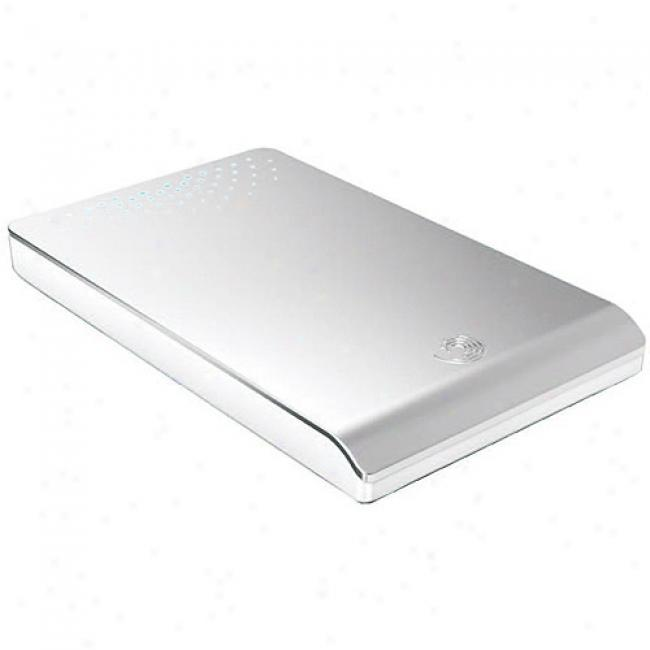 Seagzte Freeagent Go Portable Hard Drive, 50gb 5400rpm