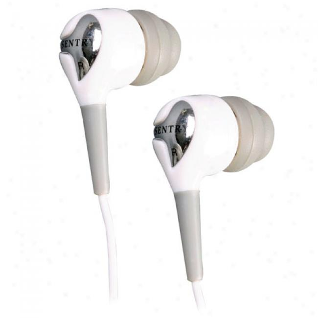 Sentty Noise-isolating Stereo Earphones