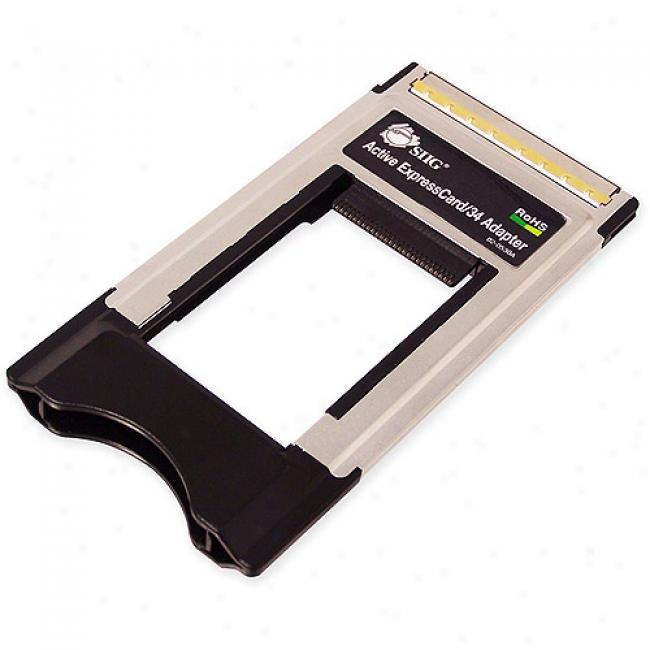 Siig Active Expresscard/34 Adapter