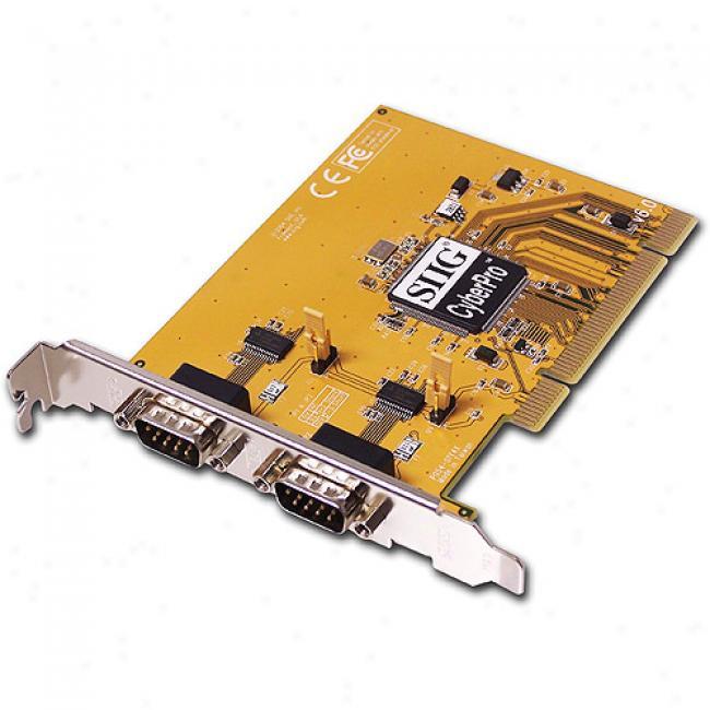 Siig Cyber Serial Dual Plus