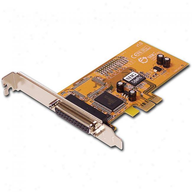 Siig Cyberparallel Pcie