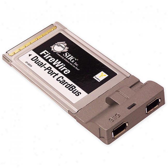 Siig Firewire Dual-port Cardbus