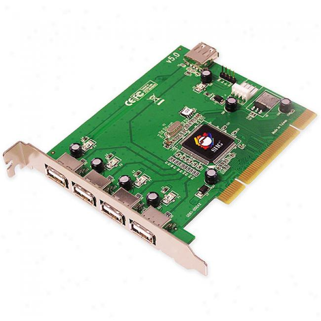 Siig Hi-speed Usb 5-port Pci
