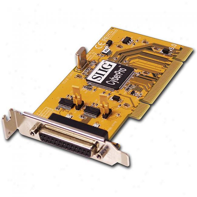 Siig Low Profile Pci-2s+dos